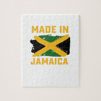 Jamaikanisches Flaggent-shirt Puzzle