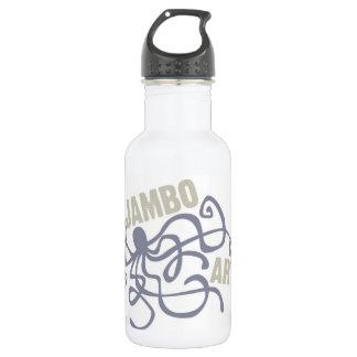 Jambo Kunst-Kraken-Wasser-Flasche Trinkflasche