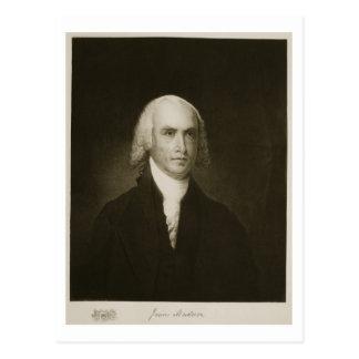 James Madison, 4. Präsident der Vereinigten Postkarte