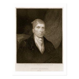James Madison alterte 82, graviert durch Thomas B. Postkarte