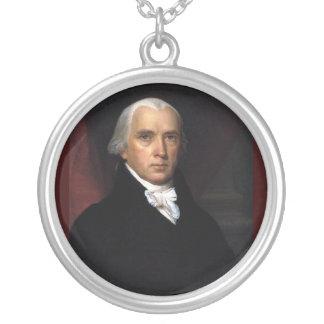 James Madison Versilberte Kette