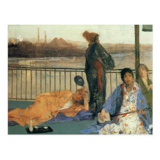 James Pfeifer-D Balkon Postkarte