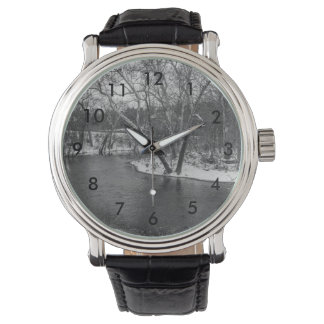 James River verringert Grayscale Armbanduhr