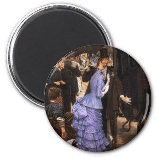 James Tissot der Brautjungfern-Magnet Runder Magnet 5,7 Cm
