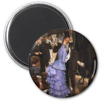 James Tissot der Brautjungfern-Magnet Kühlschrankmagnete