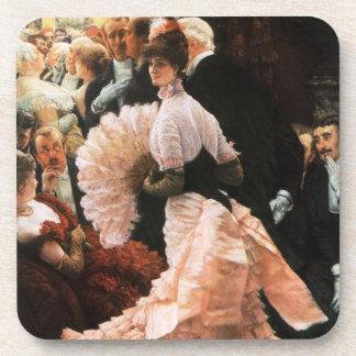 James Tissot die politische Dame Coasters Untersetzer