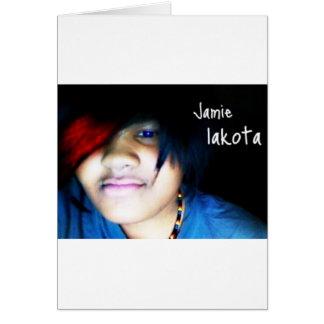 Jamie lakota offizielles Shirt Karte