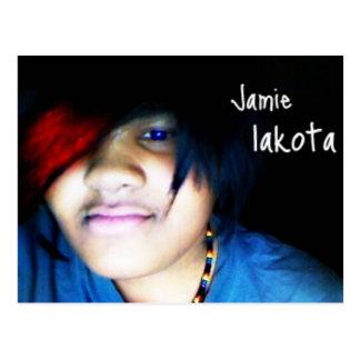 Jamie lakota offizielles Shirt Postkarte