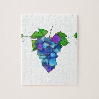 Jamurissa - quadratische Trauben Puzzle