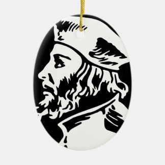 Jan Hus Keramik Ornament