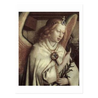 Jan. van Eyck Angel, Genter Altar-Geldstrafe Postkarte
