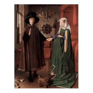 Jan van Eyck van Eyck, im Januar 1387 Maaseyck Postkarte