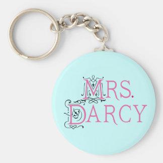Jane Austen-Frau Darcy Gift Schlüsselanhänger