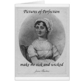Jane Austen ist krank und bös Karte
