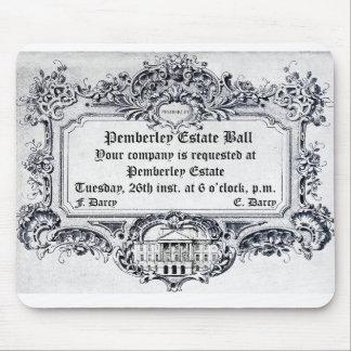 Jane Austen: Pemberley Anwesen-Ball Mousepad