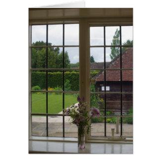 Jane Austens Fenster Chawton Cottag heraus Karte