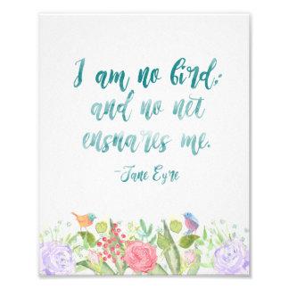 Jane Eyre - ich bin kein Vogel - Druck