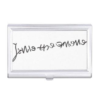 Jane Seymour-Unterzeichnungs-Kartenhalter Visitenkarten Dose