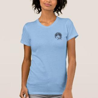 """Janeite"" Jane Ton-T-Stück Blau Geschimpfe-zwei T-Shirt"