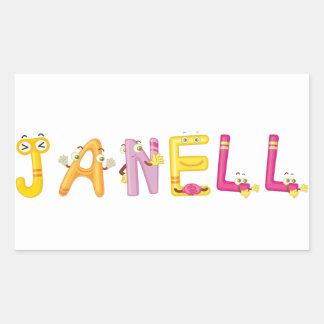 Janell Aufkleber
