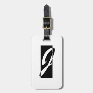 Janusian Galerie-Logo Kofferanhänger