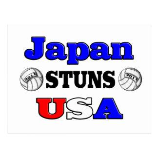 Japan betäubt USA 2011 Postkarte