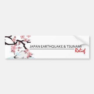 *Japan Erdbeben-/Tsunami-Entlastung * Autoaufkleber