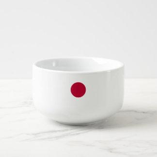 Japan-Flagge Große Suppentasse