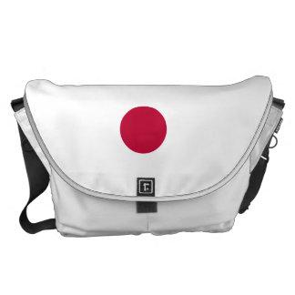 Japan-Flagge Kuriertasche