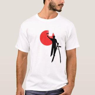 JAPAN-FLAGGEN-MALEREI T-Shirt