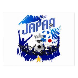 Japan-   Fußball-Qualifizieren und Brasilien 2014 Postkarten