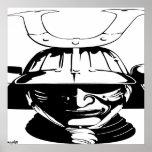 Japan - japanische Samurai-Kriegers-Kunst-Druck-Pl