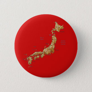 Japan-Karten-Knopf Runder Button 5,7 Cm