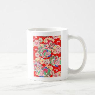 Japan, Kirschblüte, Kimono, Origami, Chiyogami, Kaffeetasse