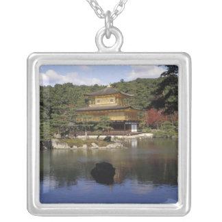 Japan, Kyoto, goldener Pavillon, Zen-Tempel Versilberte Kette