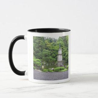 Japan, Kyoto, Scilent Steingarten Tasse
