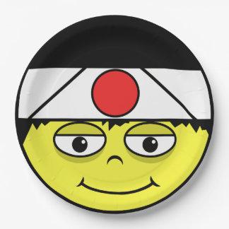 Japan stellen gegenüber pappteller