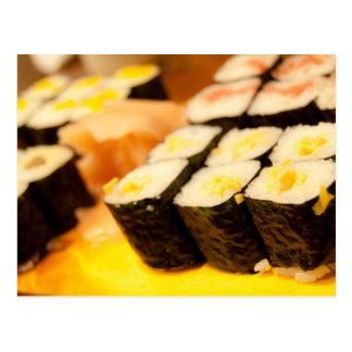 Japan-Sushi-Postkarte Postkarte