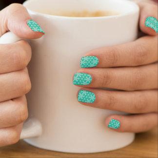 Japaner Asanoha Muster - Pfaublau Minx Nagelkunst
