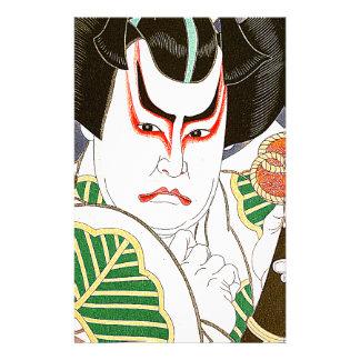 Japaner Kabuki Schauspieler-Kunst durch Natori Briefpapier
