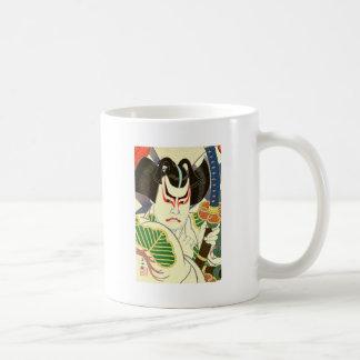 Japaner Kabuki Schauspieler-Kunst durch Natori Kaffeetasse