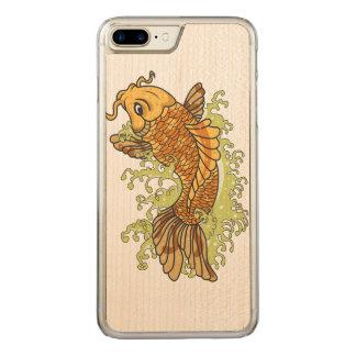 Japaner Koi Carved iPhone 8 Plus/7 Plus Hülle