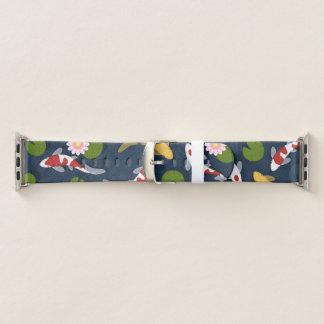 Japaner Koi Fisch-Teich Apple Watch Armband
