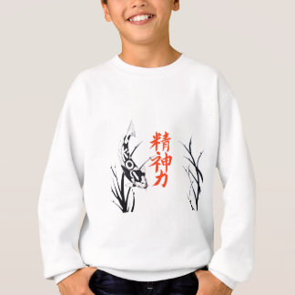 Japaner Koi Inspirations-Malerei Sweatshirt