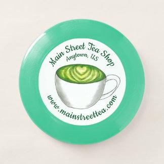 Japaner Matcha grüner Tee-Geschäft Latte Teacup Wham-O Frisbee