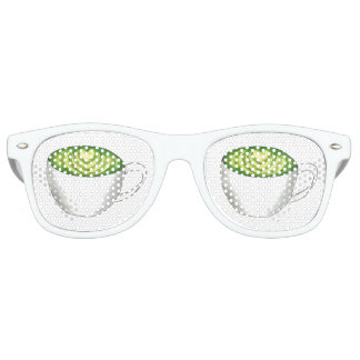 Japaner Matcha grüner Tee Latte Retro Sonnenbrillen