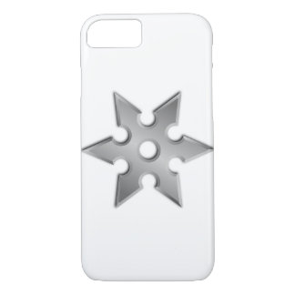 Japaner Ninja Waffe Shuriken iPhone 7 Fall iPhone 8/7 Hülle