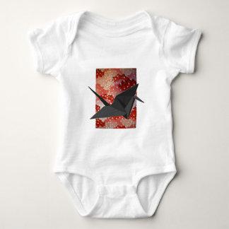 Japaner Origami Kranrosa Kirschblüte-Kirschblüte Baby Strampler