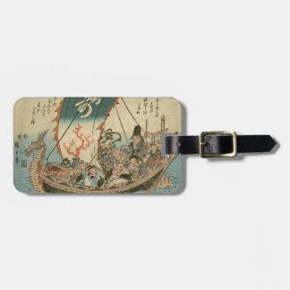 Japaner Ukiyoe Kunst (hiroshide Utagawa) Kofferanhänger