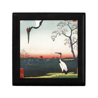 Japaner Ukiyoe Kunst (Hiroshige Utagawa) Erinnerungskiste
